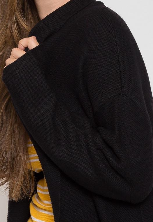 Dani Knit Cardigan in Black alternate img #6