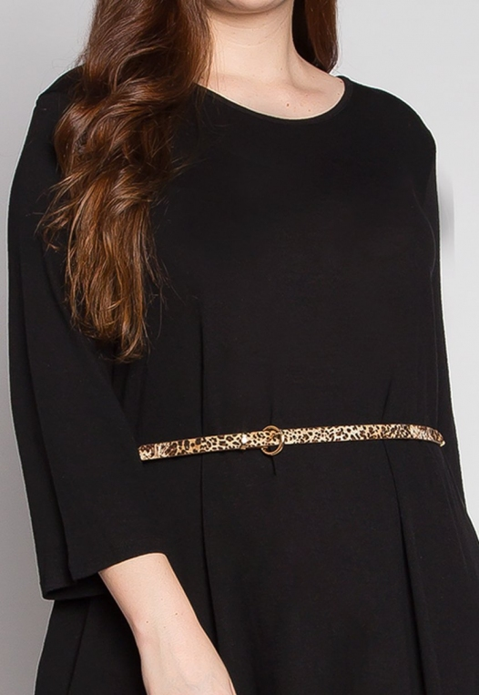Plus Size Vancouver Dress in Black alternate img #6