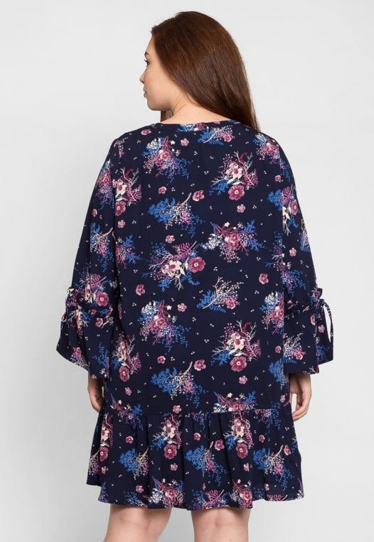 Plus Size Mystic Floral Dress alternate img #2