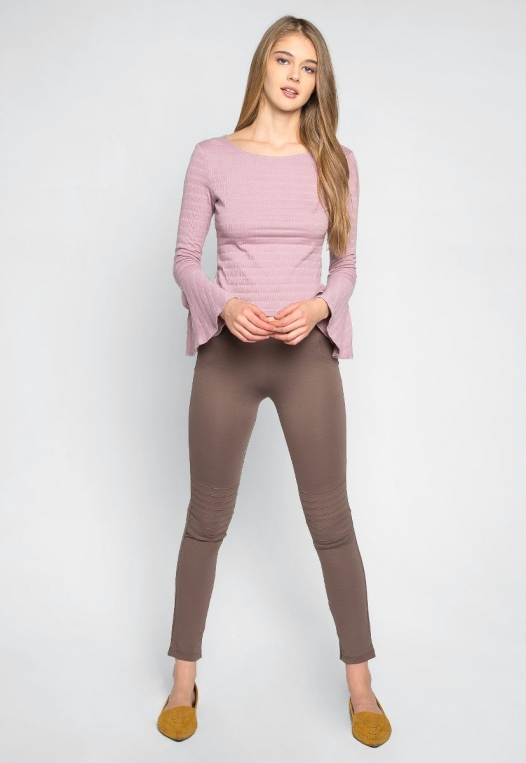 Make It a Double Leggings in Mocha alternate img #4