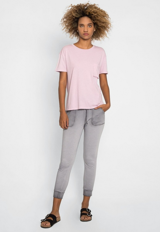 Unity Oversized Tee in Orchid alternate img #4