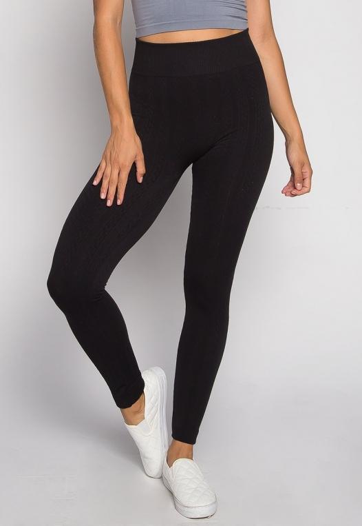 Cozy Up Fleece Leggings alternate img #1