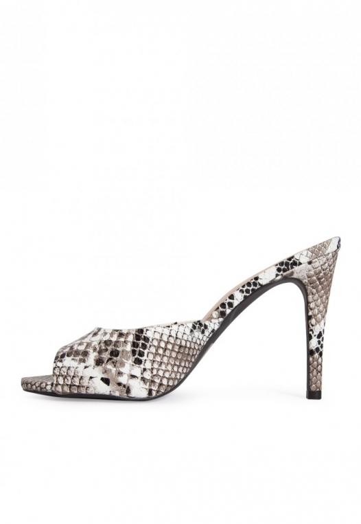Jealousy Snakeskin Heel Sandals alternate img #3