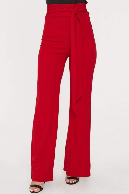 Self Tie Sash Wide Leg Trouser alternate img #2