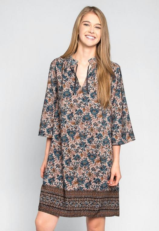 Aurora Boho Tunic Dress alternate img #1