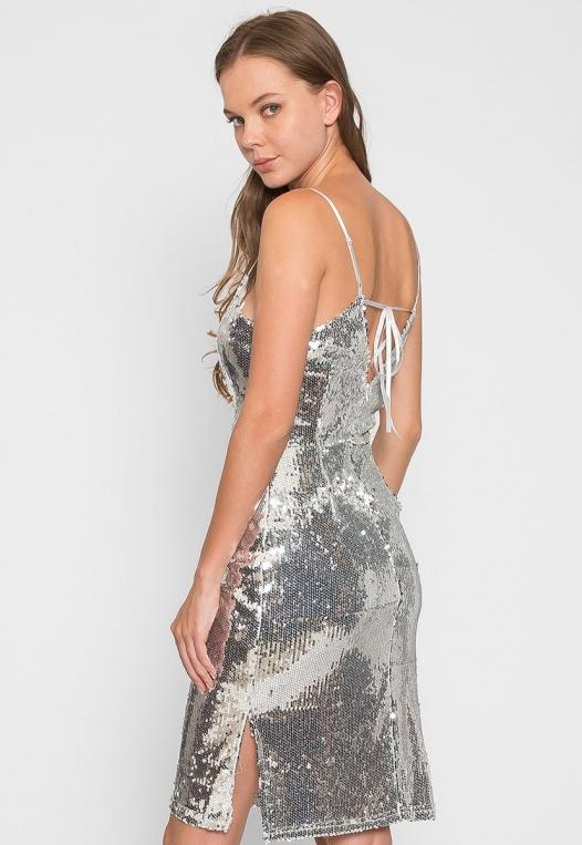 Special Event Sequin Dress alternate img #2