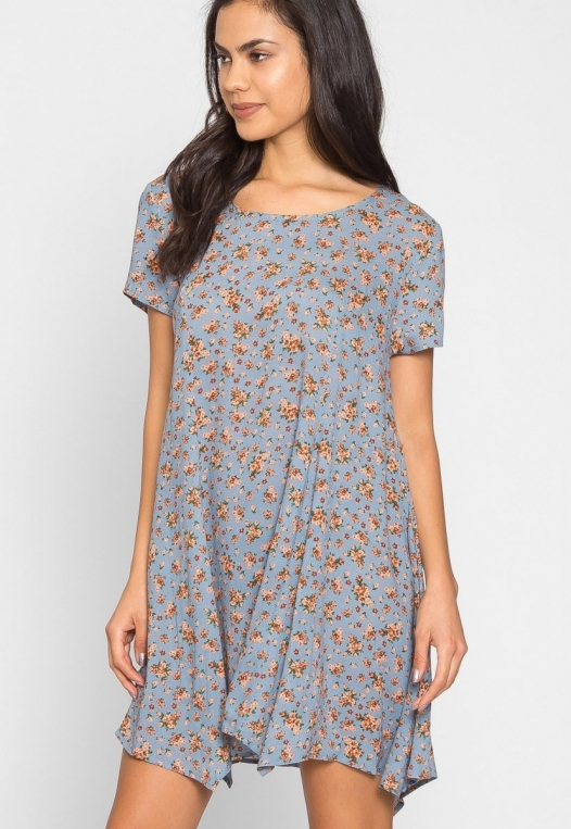 Zoey Floral Tunic Dress alternate img #5