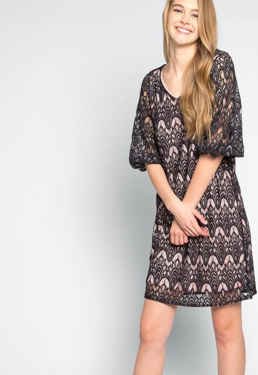 Melancholia Lace Mini Dress alternate img #5
