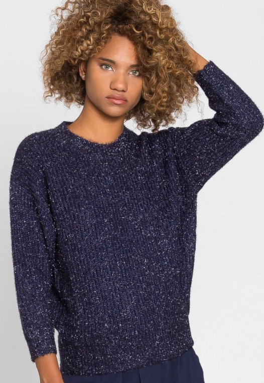 Dress You Up Tinsel Sweater alternate img #1