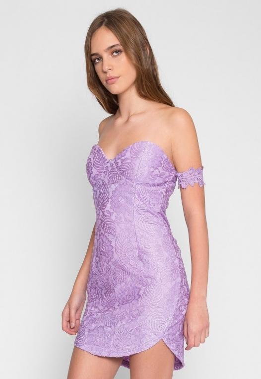 Just Like Heaven Lace Dress alternate img #3