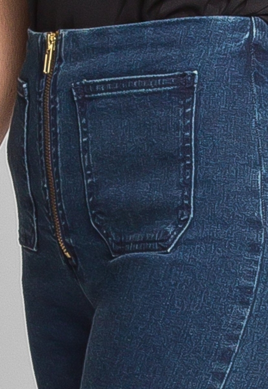 High Waist Zipper Front Skinny Jeans alternate img #6