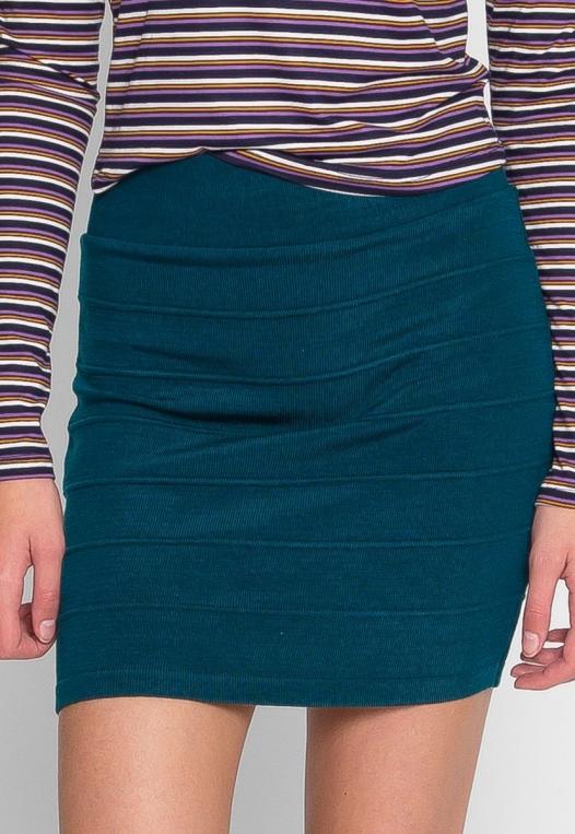 Sandy Mini Skirt in Teal alternate img #2