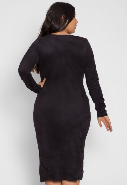 Plus Size After Party Bodycon Dress alternate img #2