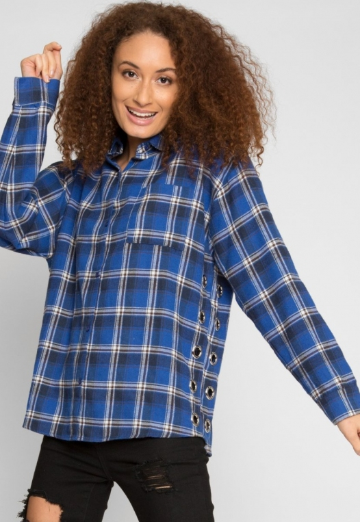Instinct Flannel Button Up Shirt alternate img #1