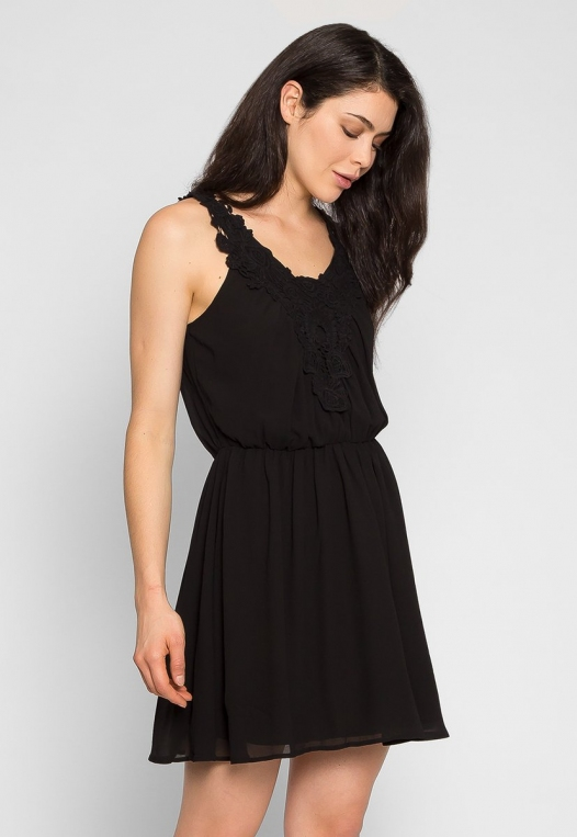 Crazy About You Front Lace Dress alternate img #3