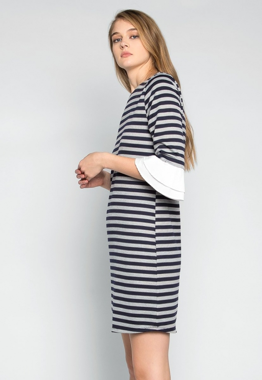 Freelove Striped Tunic Dress alternate img #3