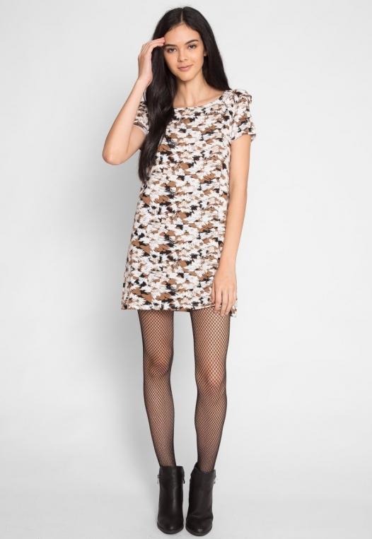 Art District Printed Tunic Dress alternate img #4