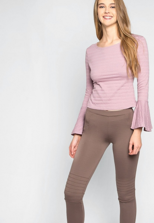Make It a Double Leggings in Mocha alternate img #5