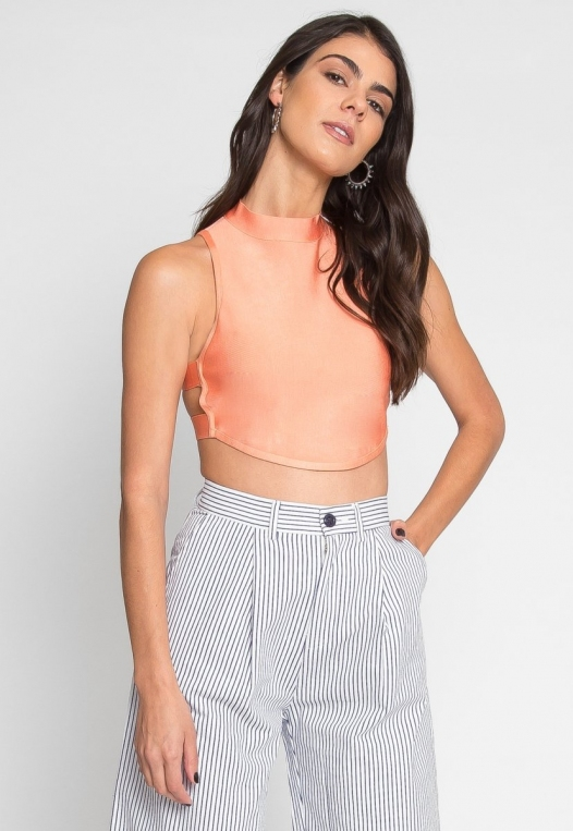 Planned Out Knit Crop Top alternate img #1