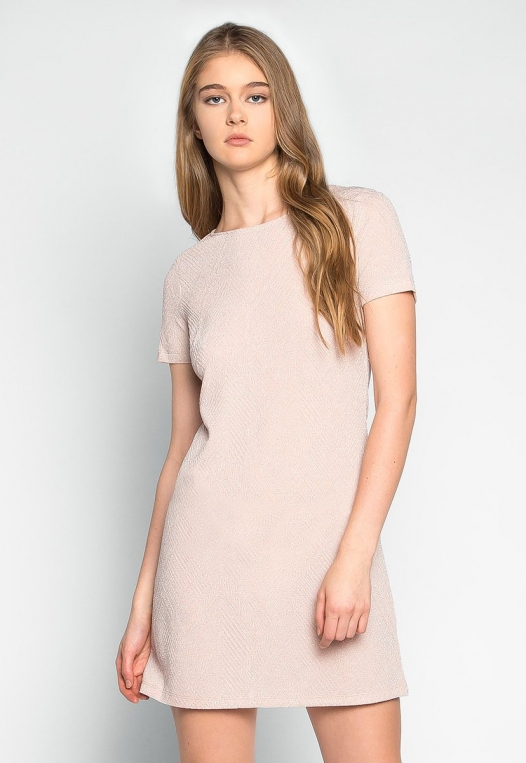 Sakura Glitter Embellished Shift Dress alternate img #1