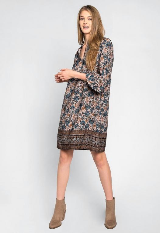 Aurora Boho Tunic Dress alternate img #4
