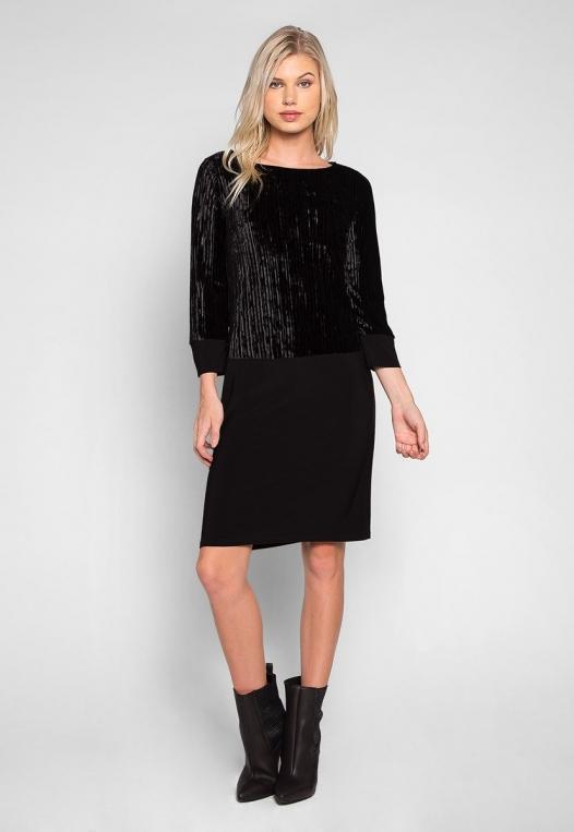 Cool Dance Velvet Top Mini Dress alternate img #4