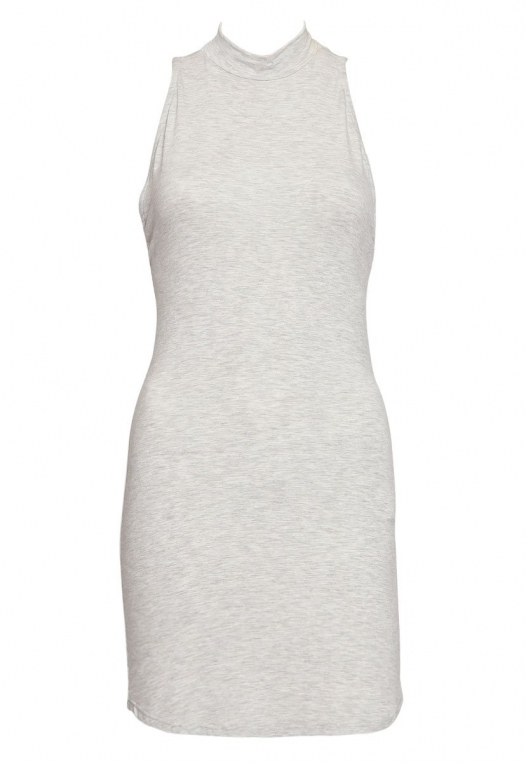 The Original Mock Neck Halter Knit Dress alternate img #7