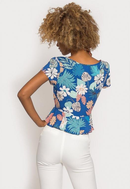 Rami Tropic Floral Blouse alternate img #2