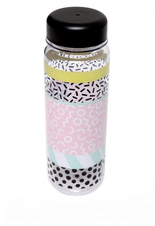 Good Vibes Water Bottle alternate img #2