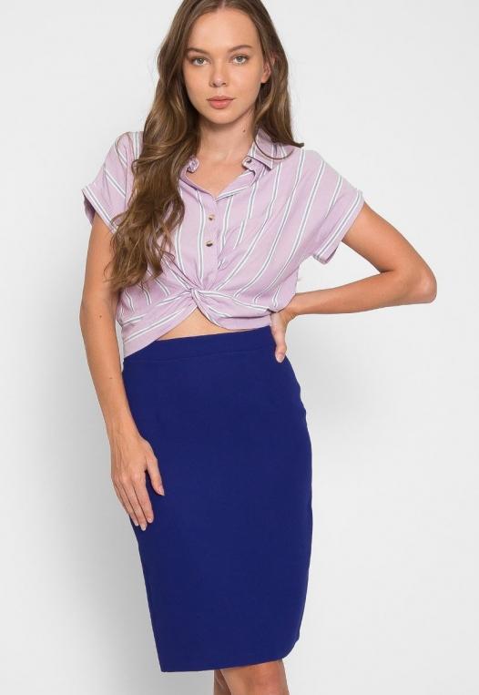 Maybell Fitted Skirt alternate img #1