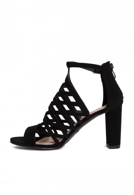 Farrow Laser Cut Ankle Boots in Black alternate img #3