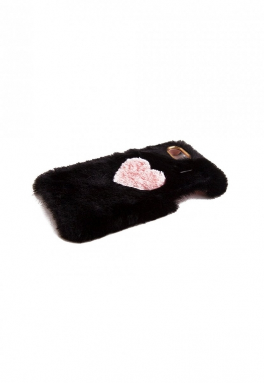 Fuzzy Heart Phone Case alternate img #3