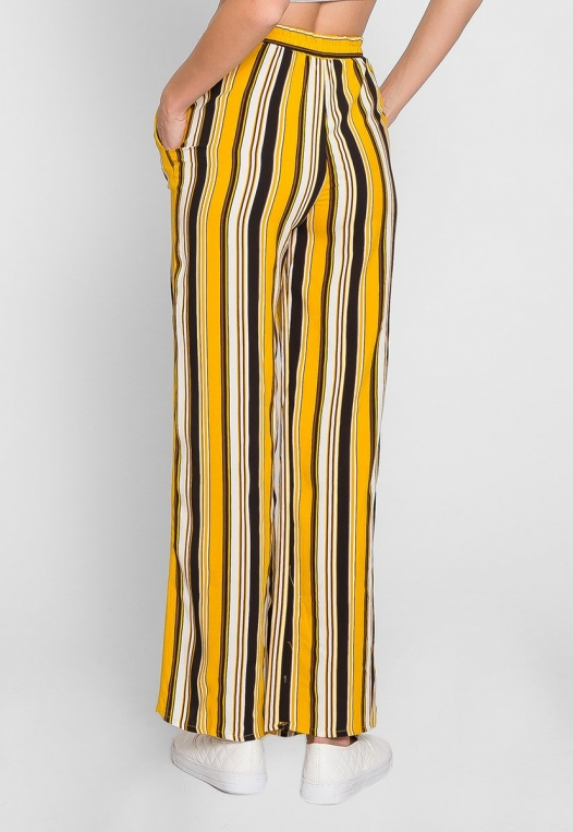 Sunsets High Waist Stripe Pants alternate img #3