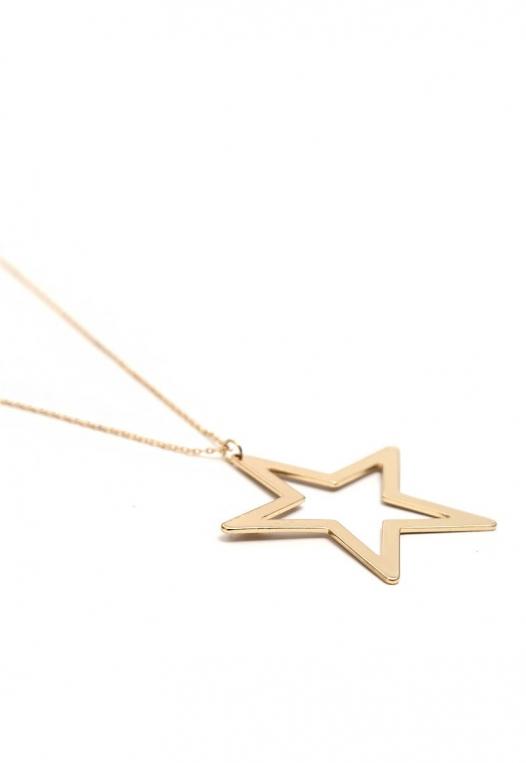 Focus Star Charm Necklace alternate img #3