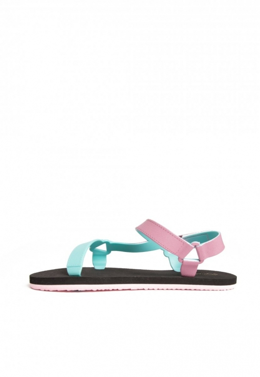 Oceanside Ombre Sandals in Lilac alternate img #3