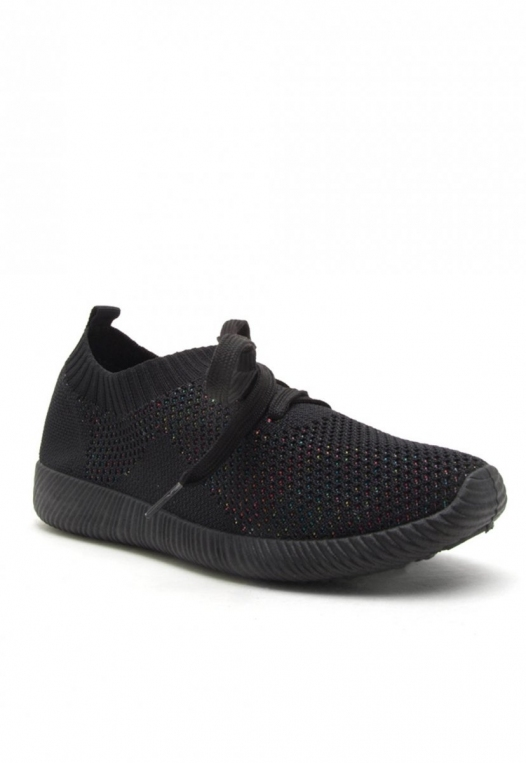 Fulton Midnight Knit Active Sneakers in Black alternate img #1