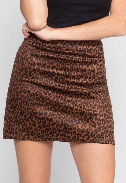 Into The Jungle Leopard Skirt alternate img #3