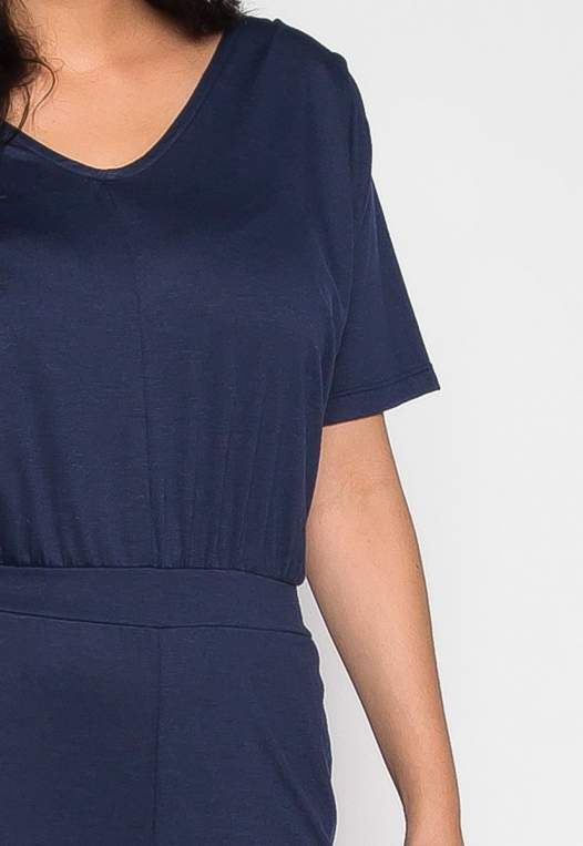 Plus Size Only You V Neck Jumpsuit alternate img #6