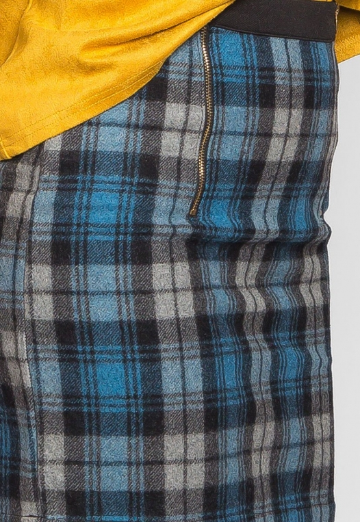 Back to College Plaid Flannel Skirt alternate img #6