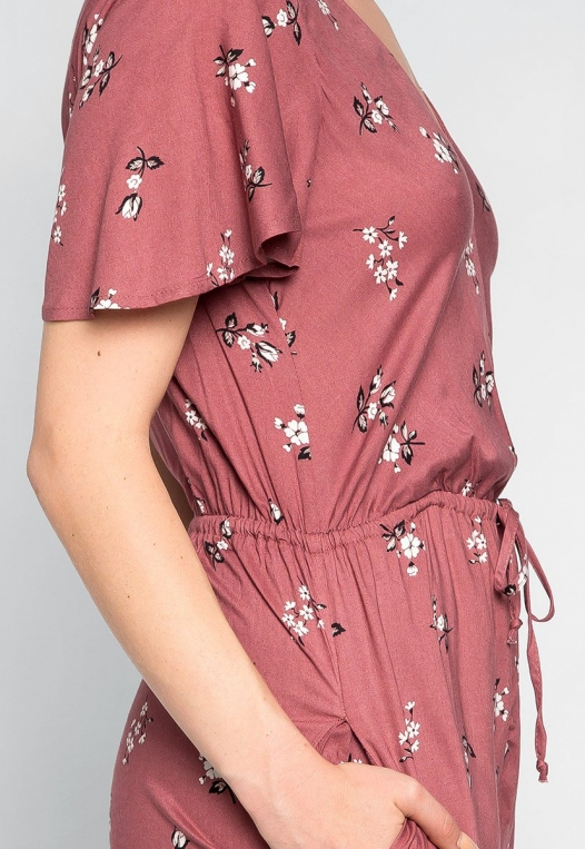 Simple Love Floral Jumpsuit alternate img #6