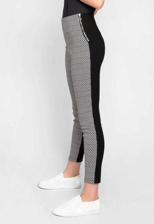 Bad Girl Fishnet Pattern Leggings alternate img #1