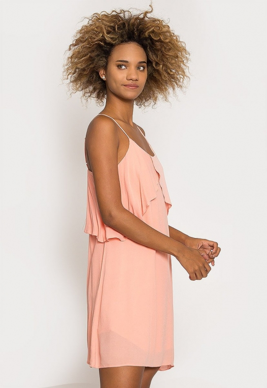 Creme Breezy Dress alternate img #3