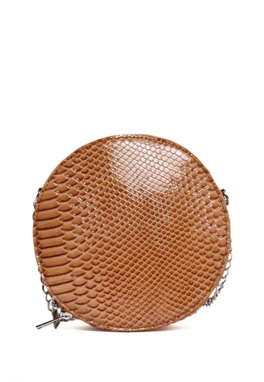 Textured Canteen Circle Bag alternate img #2