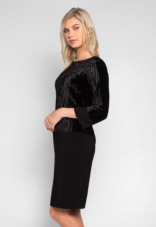 Cool Dance Velvet Top Mini Dress alternate img #3