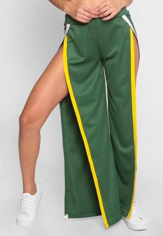 Vroom Tulip Athletic Pants in Green alternate img #2