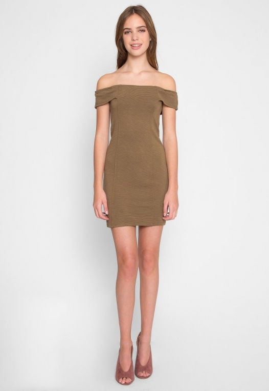 Olive Branch Mini Dress alternate img #4