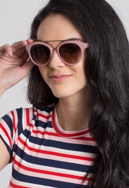 Bubble Gum Cat Eye Sunglasses alternate img #1
