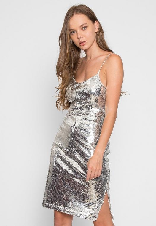 Special Event Sequin Dress alternate img #3