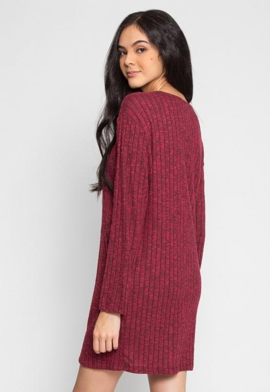 Daisy Textured Knit Dress alternate img #4