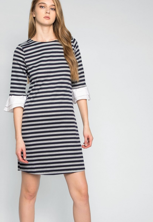 Freelove Striped Tunic Dress alternate img #5